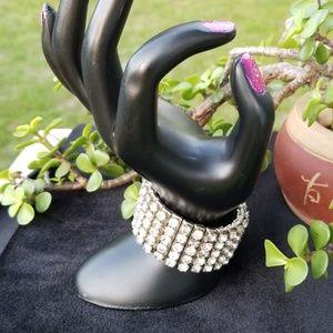 Jewelry - 💎 Classy  Expandable  Rhinestone  💎 Bracelet